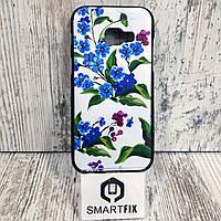 Чехол с рисунком для Samsung A3 2016 (А310) Цветы, фото 1