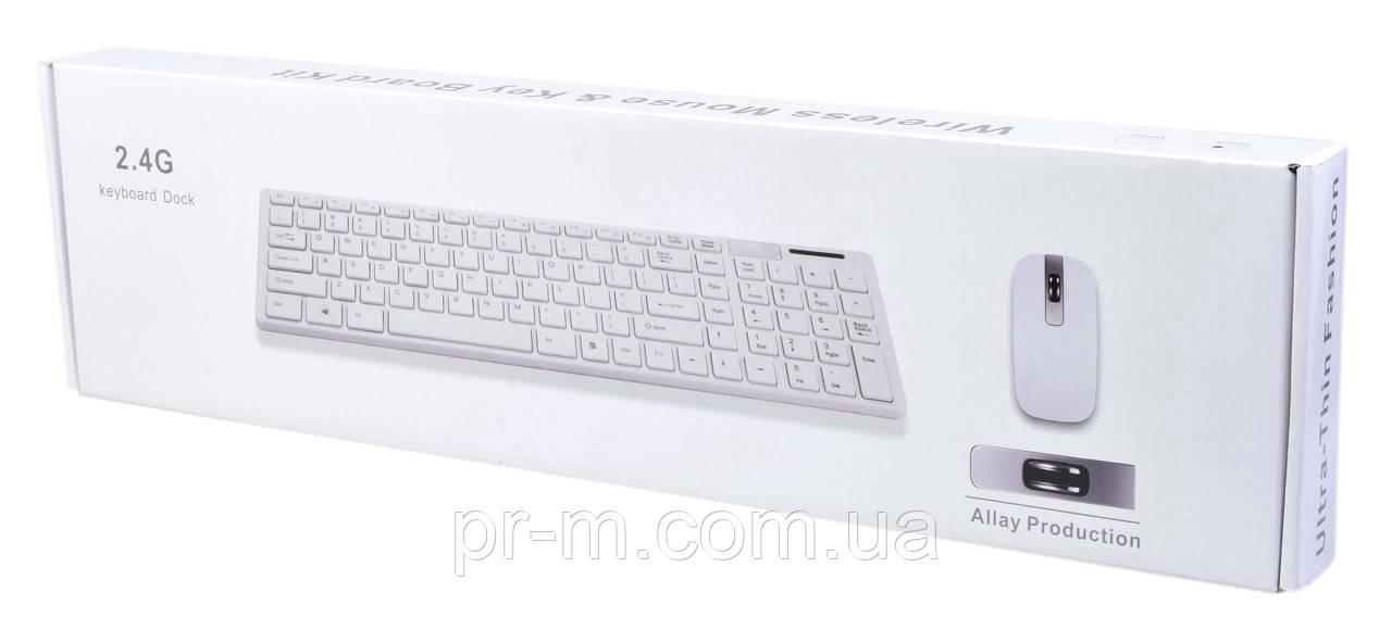 Клавиатура bluetooth с мышкой UKC K06, фото 1