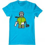 Мужская футболка с принтом Breaking Bad lego