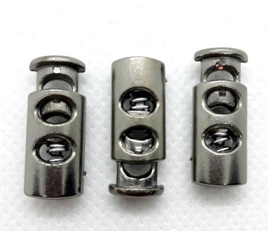 Фиксатор для шнура 3351 темный никель пластик (500 шт)