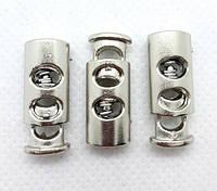 Фиксатор для шнура 3351 никель пластик (500 шт), фото 1