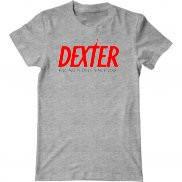 Мужская футболка с принтом DEXTER Killing people