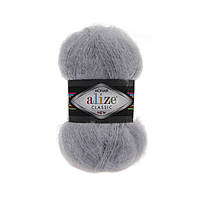 Alize Mohair Classic серый № 21
