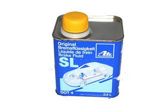 Гальмівна рідина ATE SL DOT 4 (0.5 Liter) - 03.9901-5801.2