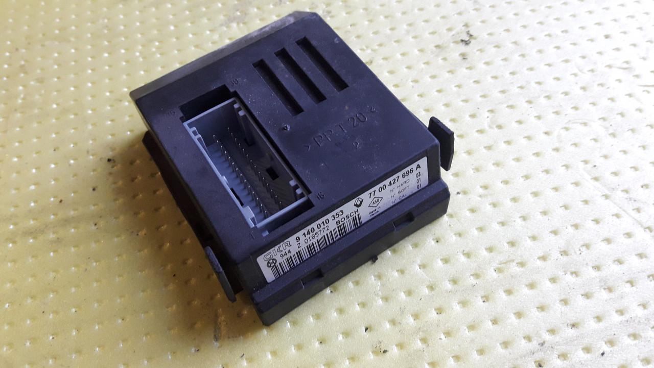Блок электронный контроллер кондиционера Renault Scenic 1 I 1999-2003 7700427696 9140010353 7700427696A