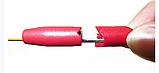 2шт  щупы с иглой с прокалыванием проводов  иглы крюк зажимы тестер  мультиметра для авто диагностики, фото 2