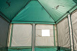 Тент кемпинговый Mimir Х-2902/1, один вход (300x300x250 см), фото 2