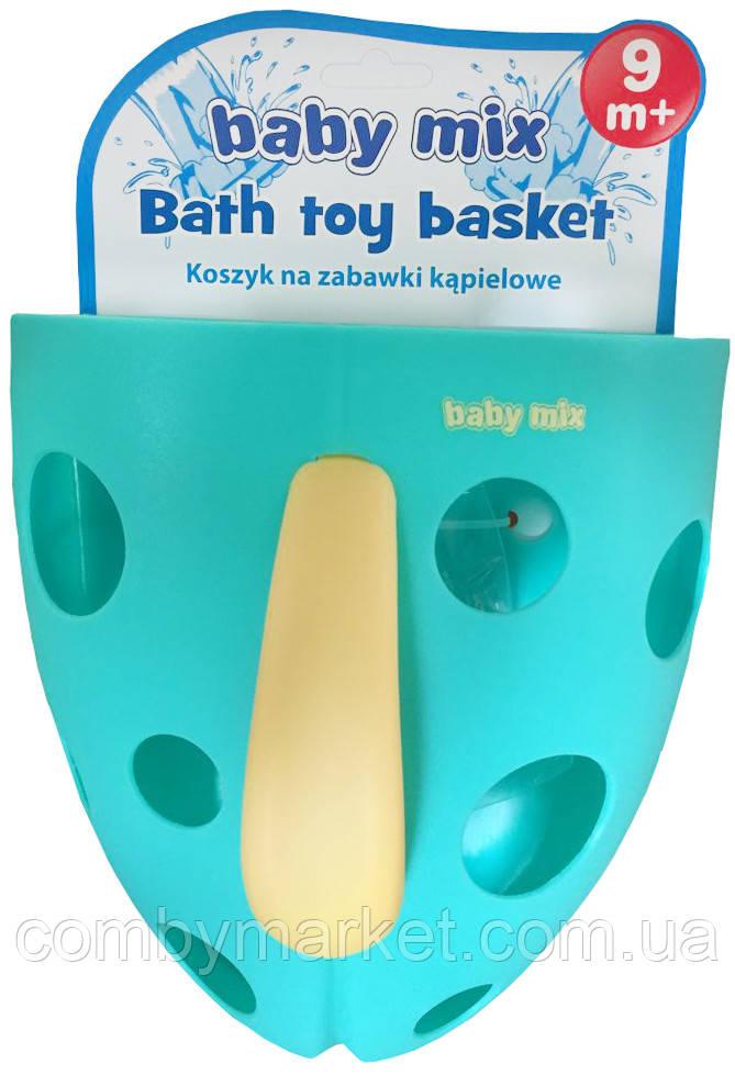 Корзина для игрушек Baby Mix YU-BH-708 mint