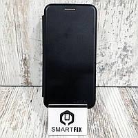 Чехол книжка для Samsung A3 2017 (А320) Черный