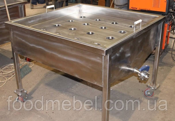 Стол технологический формовочный с ванной для сыра для сыроварни