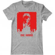Мужская футболка с принтом Die Hard