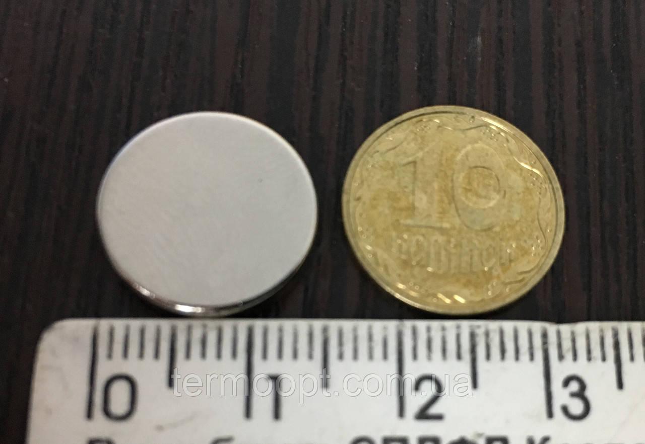 Неодимовый магнит 15 х 10 мм N42 Польша