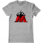 Мужская футболка с принтом Металлург лого 3d