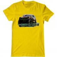 Мужская футболка с принтом Niva offroad