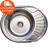 Кухонная мойка стальная Galati Taleyta Satin 7131 нержавеющая сталь