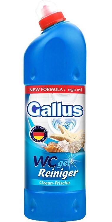 Засіб для видалення накипу Gallus WC gel ozean-frische 1250 мл.