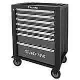 Візок для інструменту, 7 полиць ANDRMAX, фото 2