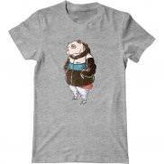 Мужская футболка с принтом Панда Хип-Хоп