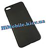 Силиконовый чехол для iPhone 7 Plus, iPhone 8 Plus черный (матовый)