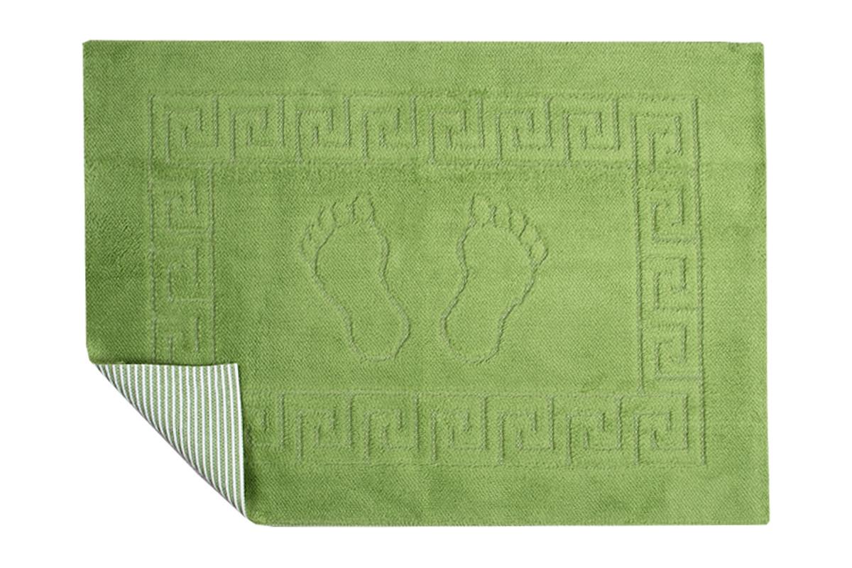 Коврик для ванной Lotus - 45*65 зеленый
