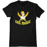 Мужская футболка с принтом Che music