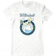 Мужская футболка с принтом Гомер Симпсон за алкоголь