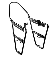 Велобагажник Передний алюминиевый ,Велосипедные рамки на переднее колесо вело рамки под кофры ,боковые сумки