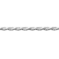Цепочка серебряная с плетением Жгут, фото 1