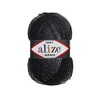 Alize RAINBOW темно-серый-черный № 1304