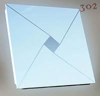 Потолочная металлическая плитка 300х300 № 302