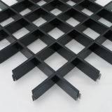 Подвесной потолок Грильято100х100 белый/металлик/черный