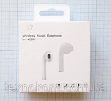 Бездротовий динамік з функцією гарнітури i7 Wireless Music Earphone V4.1+EDR