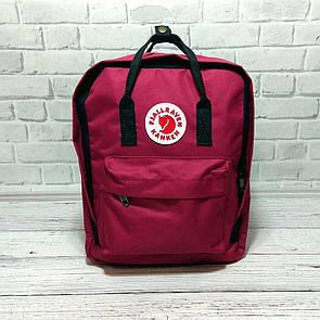 Рюкзак FJALLRAVEN KANKEN + Органайзер  ( 7 цветов ) Бордовый