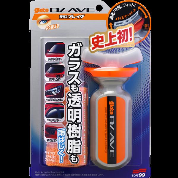 """Soft99 Glaco Blave - водоотталкиваюшая полироль """"антидождь"""" для стекла и пластика"""