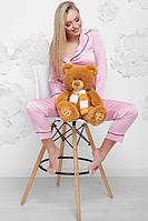Мишка плюшевый Тоша мягкая игрушка 70 см (1) цвет карамель