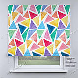 Римская фото штора Треугольники, фото 2