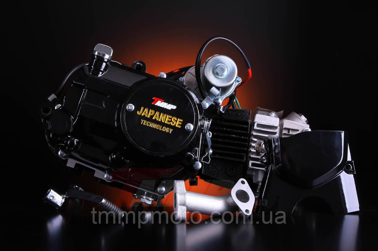 Двигатель для квадроцикла АТВ-110 см3для квадроциклов ( 1 вперёд и 1 передача назад ) механика