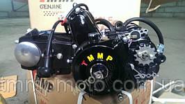 Мотор в сборе АТВ-110 см3 для квадроциклов ( 1 вперёд и 1 передача назад ) механика