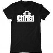 Мужская футболка с принтом Christ