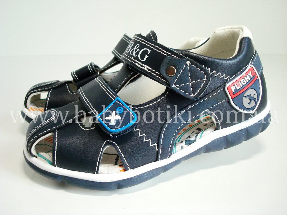Кожаные сандалии B&G. Размеры 26, 27, 28, 30, 31.