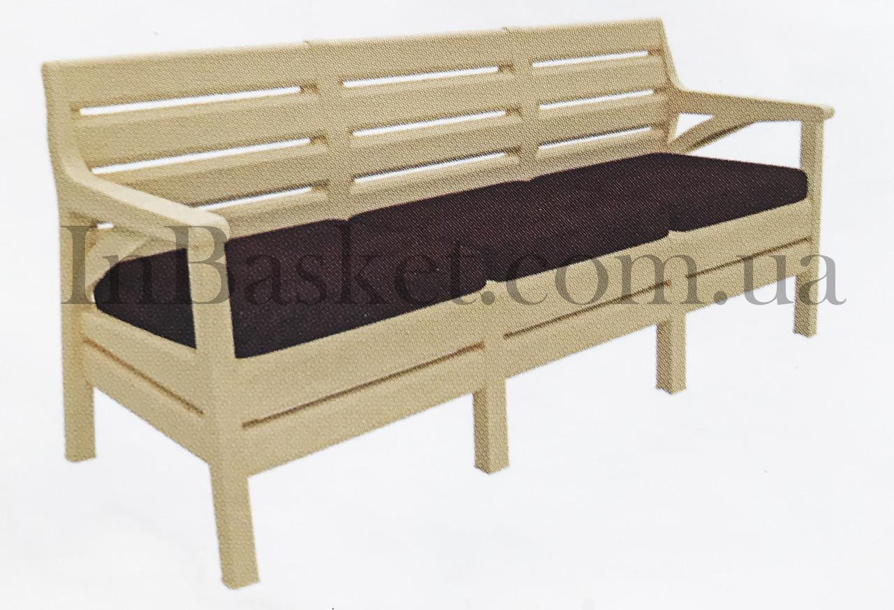 Пластиковое Кресло Triple Sofa (HK-860)