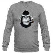 Свитшот мужской модный с принтом Monkey