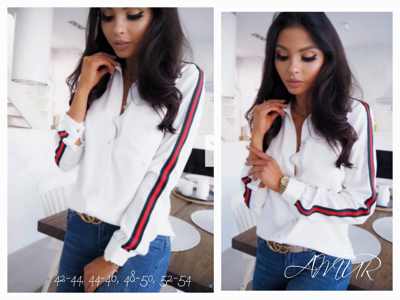 Женская модная рубашка  СО1258 (бат)