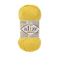 Alize Bamboo Fine желтый № 216