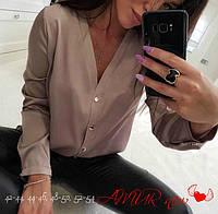 Женская модная рубашка  СО519 (норма), фото 1