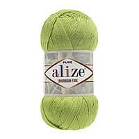Alize Bamboo Fine зеленый неон № 612