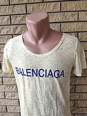 Футболка мужская брендовая реплика BALENCIAGA, Турция, фото 3