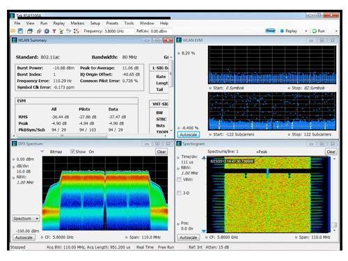 Анализатор спектра реального времени Tektronix RSA5000B
