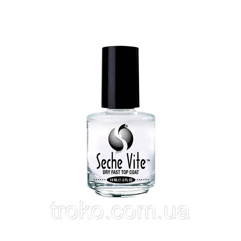 Seche Vite Dry Fast Top Nail Coat Быстросохнущее покрытие 14 мл