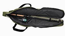 Тройной чехол для удилищ LeRoy Rod Cover 130, фото 2